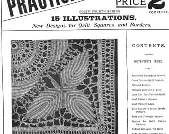 Weldons PDF  15page Crochet Pattern Booklet, Practical Crochet No.163 Vol 14