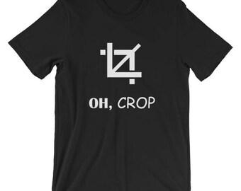 Oh, Crop Tee
