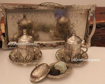 Handmade Coffee Set, Turkish Coffee sets, Arabic Coffee, Espresso set, Vintage Coffee set, Coffee Set, Coffee mugs, Espresso coffee cup