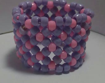 Pastel Cotton Candy Cuff