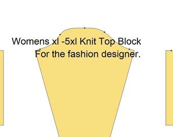 Fashion Blocks. Women Knit Top. xl -5xl. Fashion Designers. Plus size.