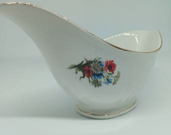 Sauceboat old French porcelain Orchies model Turin 1950