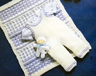 Jumpsuit and dress pattern for baby