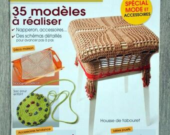 Easy 3 crochet designs magazine