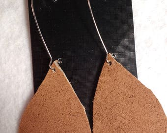 Genuine Leather Earrings - Leather Earrings