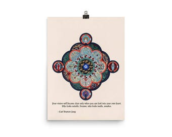 Carl Jung - Quote Art Poster