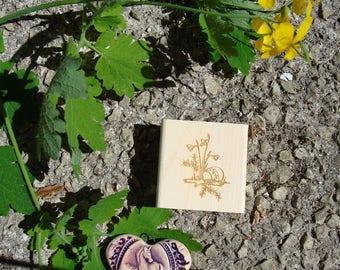 Custom rubber stamp Easter TC234