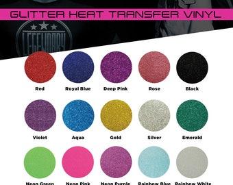 Premium Glitter Heat Transfer Vinyl By The Yard