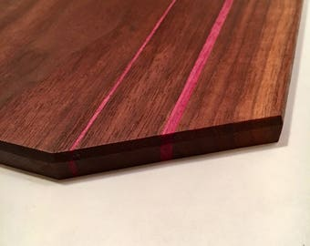 Walnut and Purpleheart cutting board