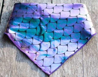 Mermaid Dog Bandana
