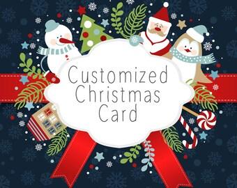 Customized Christmas Card