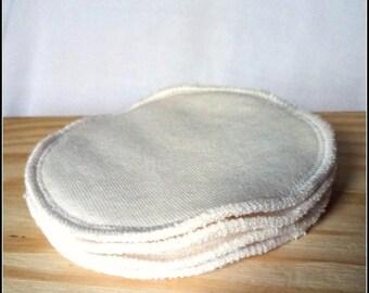 Cleansing organic cotton