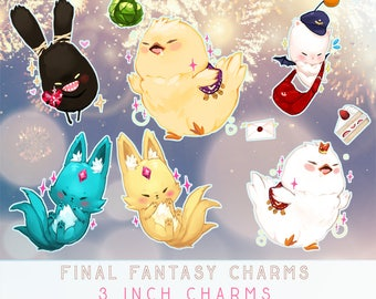 3 in Glitter Final Fantasy 14 Charms
