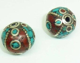 Ethnic Nepalese bead PE525