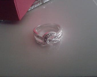 Maty silver ring size 51 - Valentine's day