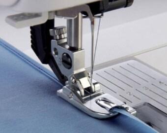 PP025 - Presser foot has clip ourleur 4 mm