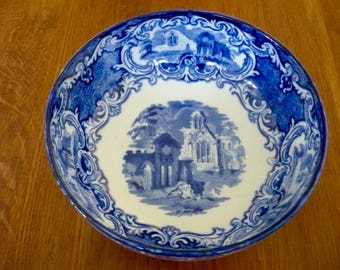 George Johnson & Sons Blue and White bowl