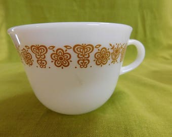 Corelle Butterfly Gold Pyrex Cup