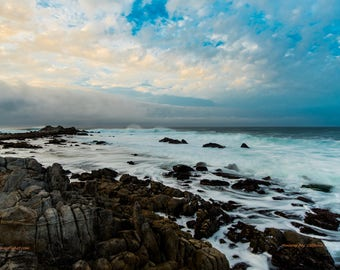 Pacific Storm, Monterey Coast, California