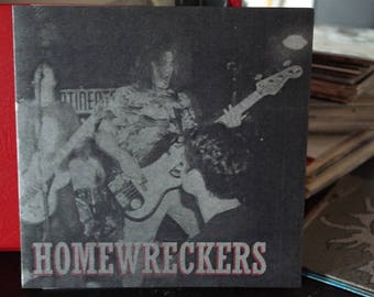 Homewreckers- New York City Punk Rock- 7 inch Vinyl Record-Built to Last/I Want More- 1990s Hardcore/Punk
