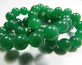 Set of 45 Jade 8 mm beads
