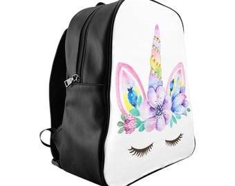 Unicorn Backpack, Unicorn, Backpack, Back To School, Toddler Backpack, Unicorn Bag, Girls Backpack, School Bag, Custom Backpack, Kids Bag