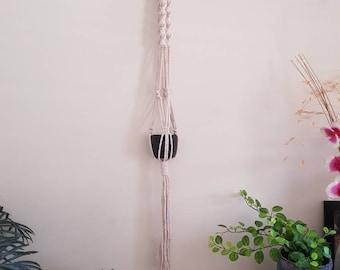 Macrame Plant Hanger - Natural