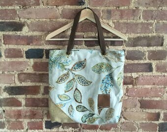 Bright Floral Life Tote 2.0