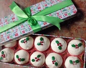 Christmas Cake Ball Box