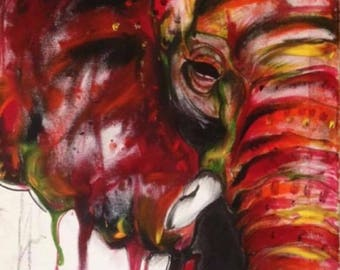 Bleeding elefant