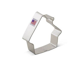 Gingerbread House Cookie Cutter, Real Estate Cookie Cutter, House Cookie Cutter