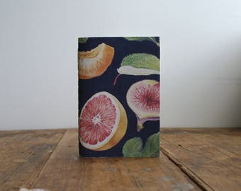 Hand-bound A6 Notebook - Midnight