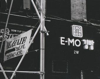 Midtown matte photo print