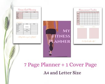 Fitness Planner | Workout and Meal Planner