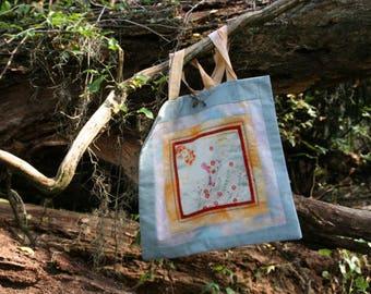 Shopping Bags 4 Seasons Wildflowers in Mint