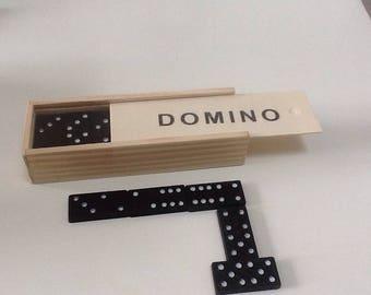 Dominoes - Dominoes made of wood