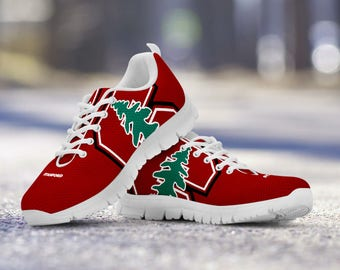 Stanford Cardinal Football Fan Custom Running Shoes/Sneakers/Trainers - Ladies + Mens Sizes