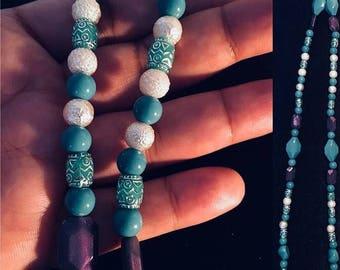 100% custom/handmade prayer beads