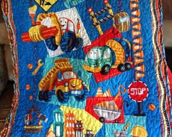 Construction Quilt
