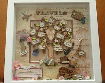 Decorated frame / / family tree / / family Tree / / travel tree