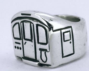 Northern line in 925 silver