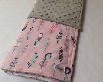 Minky Blanket, Baby Blanket, Snuggle Blanket, Baby Playmat