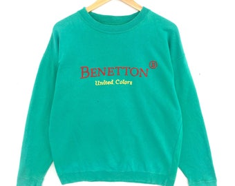30% Off! Vintage 90's United Colors of Benetton Sweatshirt Size L