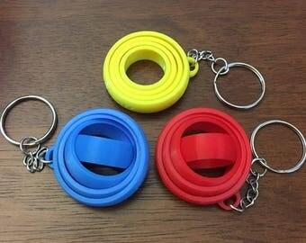 Hand Fidget/Focus Toy/Hand Spinner/Fidget toy/Gyro Keychain/Spinner/3D Printed/Handbag Charm/Fidget Keychain/Gyro/Keychain/Hand/Custom