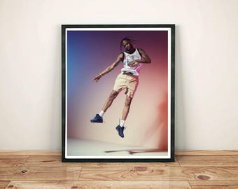 Travis Scott Print - Travis Scott Poster - Travis scott jump HQ Gift