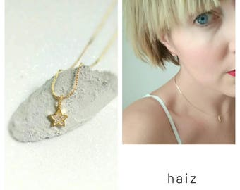 Stones Star Necklace