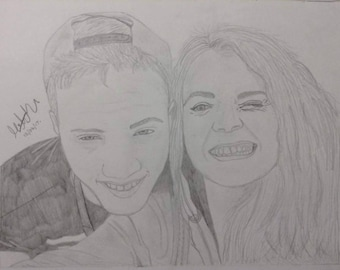 Personalised Portrait Drawing