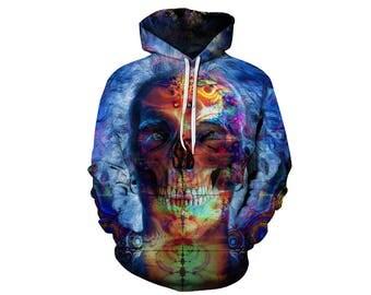 Skull Hoodie, Skull, Skull Hoodies, Skull Prints, Scalp Hoodie, Gothic, Skeleton, Skulls, Scalp, Hoodie, 3d Hoodie, 3d Hoodies - Style 11
