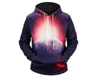 Galaxy Hoodie, Galaxy Sweatshirt, Galaxy, Galaxy Jumper, Galaxy Hoodies, Space, Space Hoodie, 3d Hoodie, 3d Hoodies, Hoodie - Style 73