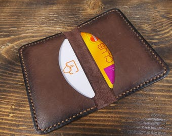 Card holder, Simple cardholder, Leather cardholder, Minimalist cardholder, Mini card holder, Cardholder, Slim cardholder